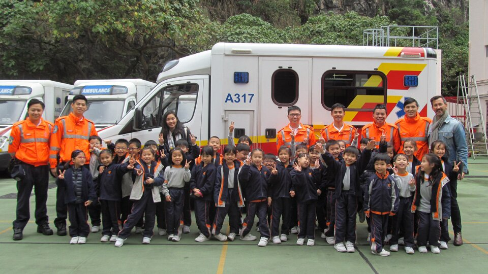 P1 English- Ambulance Station Visit